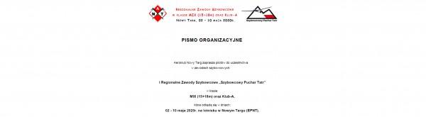 Pismo Organizacyjne